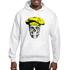 Yellow Chef Skull Hoodie