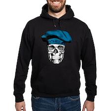 Blue Chef Skull Hoodie
