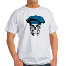 Blue Chef Skull T-Shirt