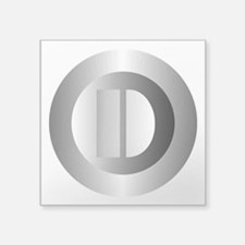 Polished Steel (D) Sticker