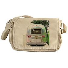 Vintage Airstream Messenger Bag