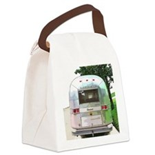 Vintage Airstream Canvas Lunch Bag
