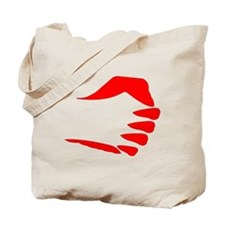 Vertical Fist Tote Bag