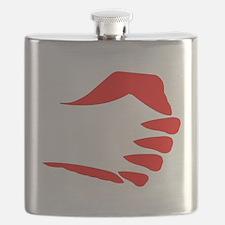 Vertical Fist Flask