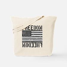 Freedom US Flag Tote Bag