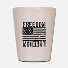 Freedom US Flag Shot Glass
