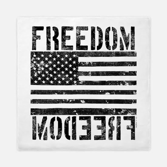 Freedom US Flag Queen Duvet