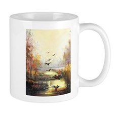 Autumn hunting pastel Mugs