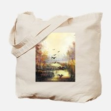 Autumn hunting pastel Tote Bag