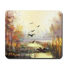 Autumn hunting pastel Mousepad