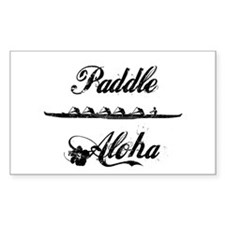 Paddle Aloha Kane Decal