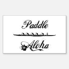 Paddle Aloha Kane Decal