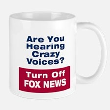 Turn Off Fox News Mugs