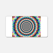 Psychedelia Aluminum License Plate