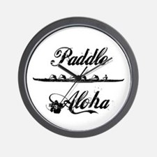Paddle Aloha Kane Wall Clock