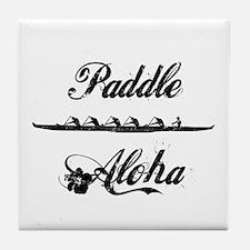 Paddle Aloha Kane Tile Coaster