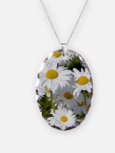 Cute Daisy flower garden Necklace