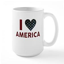 I Love America Mugs