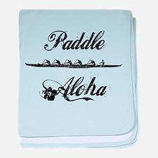 Paddle Aloha Kane baby blanket