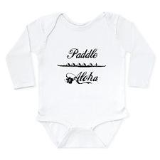 Paddle Aloha Kane Long Sleeve Infant Bodysuit