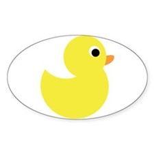 Yellow Rubber Duck Decal