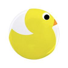 "Yellow Rubber Duck 3.5"" Button"