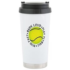 Run Fast Bark Loud Travel Mug