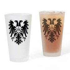 Roman Eagle Illuminati Drinking Glass