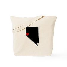 Red Reno Heart Tote Bag