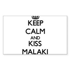 Keep Calm and Kiss Malaki Decal