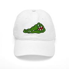 Gator Head Baseball Baseball Cap