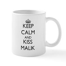 Keep Calm and Kiss Malik Mugs