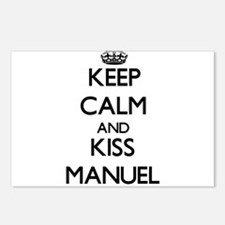 Keep Calm and Kiss Manuel Postcards (Package of 8)