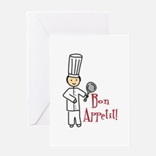 Bon Appetit! Greeting Cards