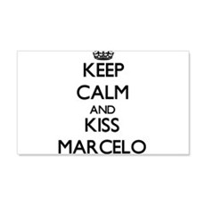 Keep Calm and Kiss Marcelo Wall Decal