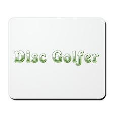 Disc Golfer Mousepad