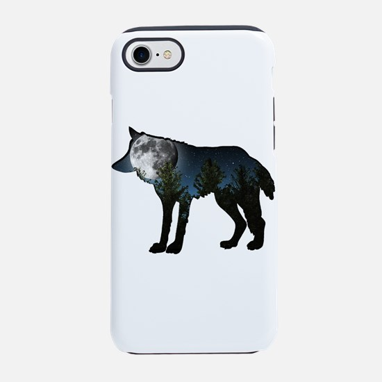 WOLF MOON iPhone 7 Tough Case