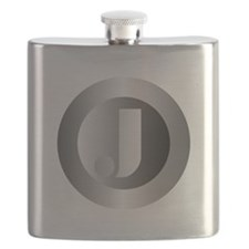 Polished Steel (J) Flask