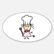 Little Chef Girl Decal