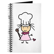 Little Chef Girl Journal