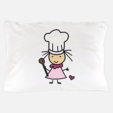 Little Chef Girl Pillow Case