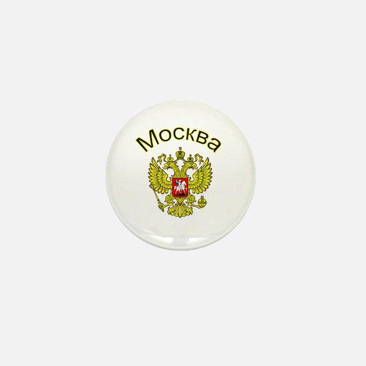 Moscow, Russia Mini Button