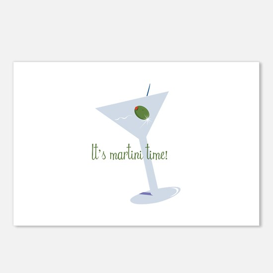 It's Martini Time! Postcards (Package of 8)
