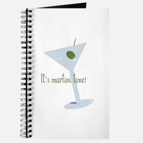 It's Martini Time! Journal
