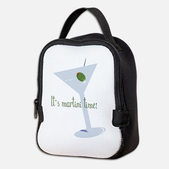 It's Martini Time! Neoprene Lunch Bag