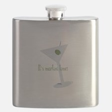 It's Martini Time! Flask