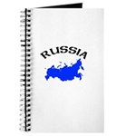 Russia Map Journal