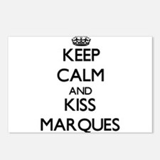 Keep Calm and Kiss Marques Postcards (Package of 8
