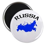 Russia Map Magnet