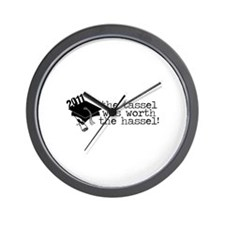 2011 The Tassel Was Worth The Hassel! Wall Clock
